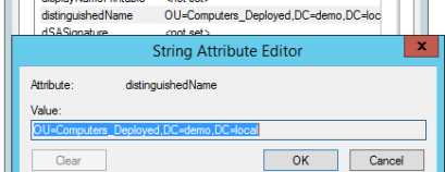 string attribute editor